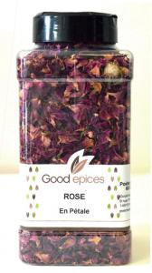 goodepice rose en pétale