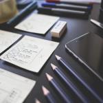 crayon feuille