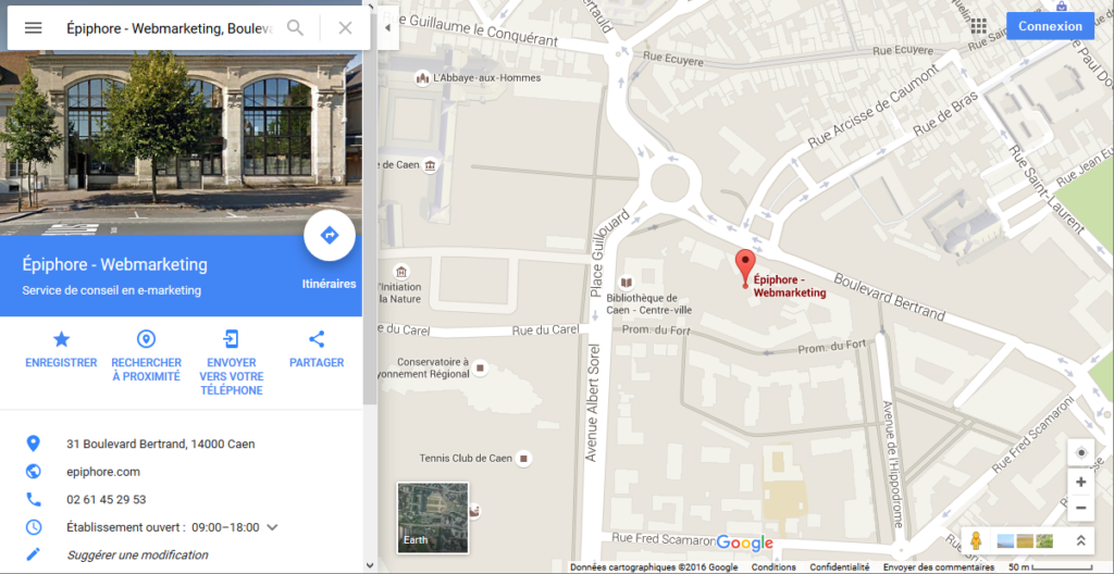 Google my business - Epiphore