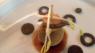 Cromesquis de joue de boeuf confite foie gras, huître d'Utah beach et pommes fraîches