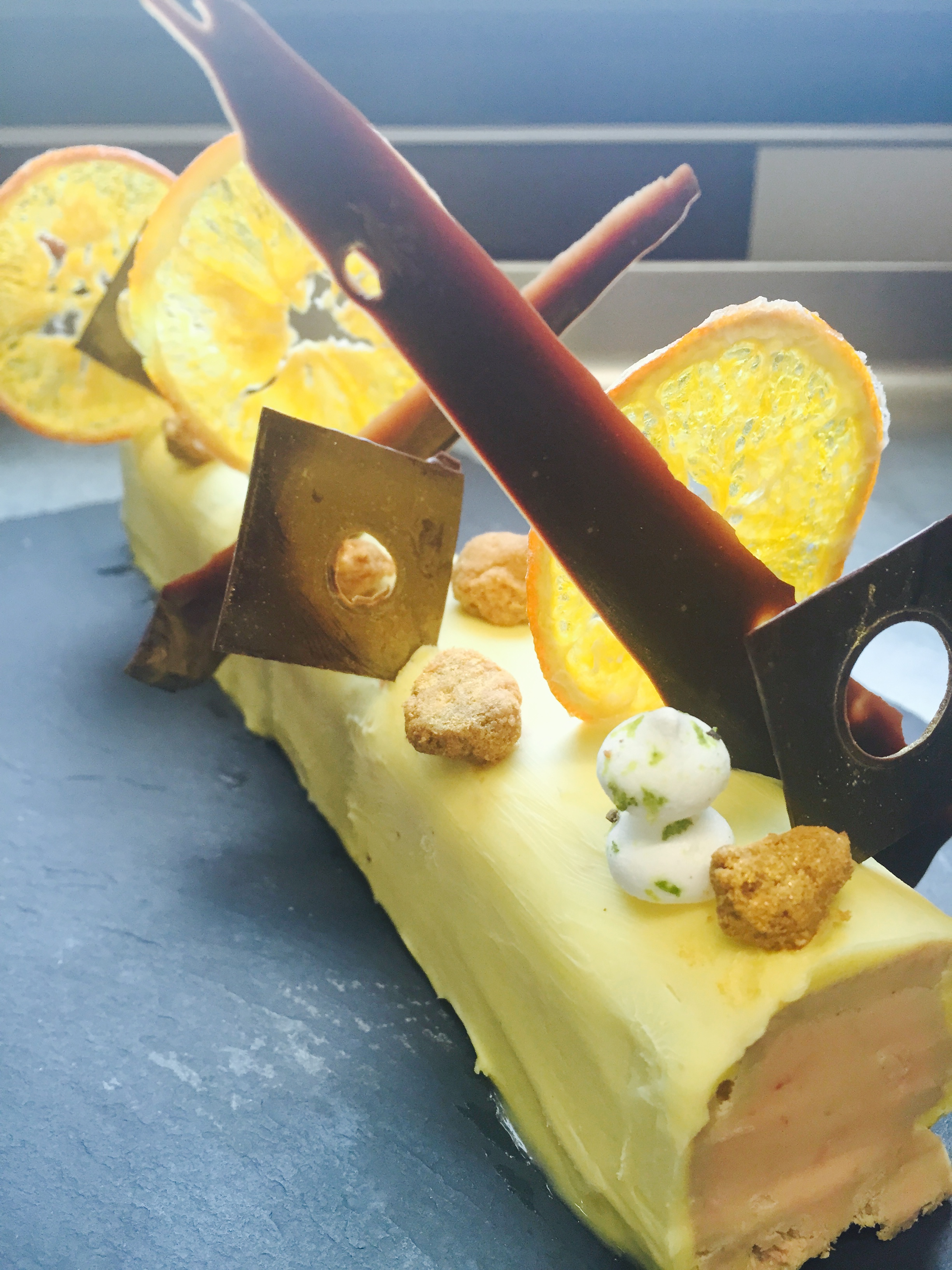 Bûche de foie gras