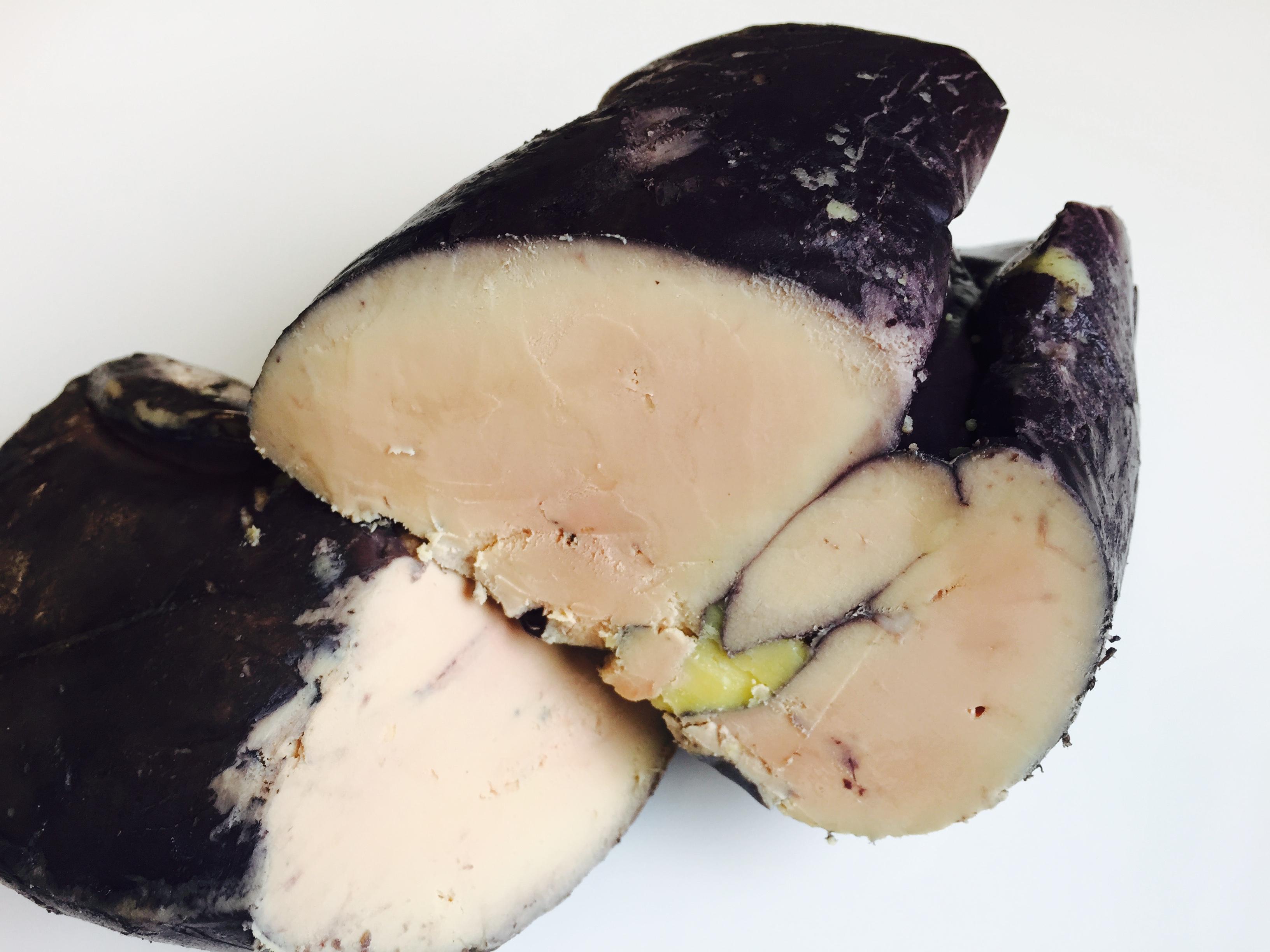 Foie gras de canard poché