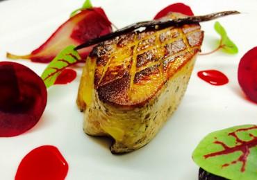 Foie gras de canard rôti