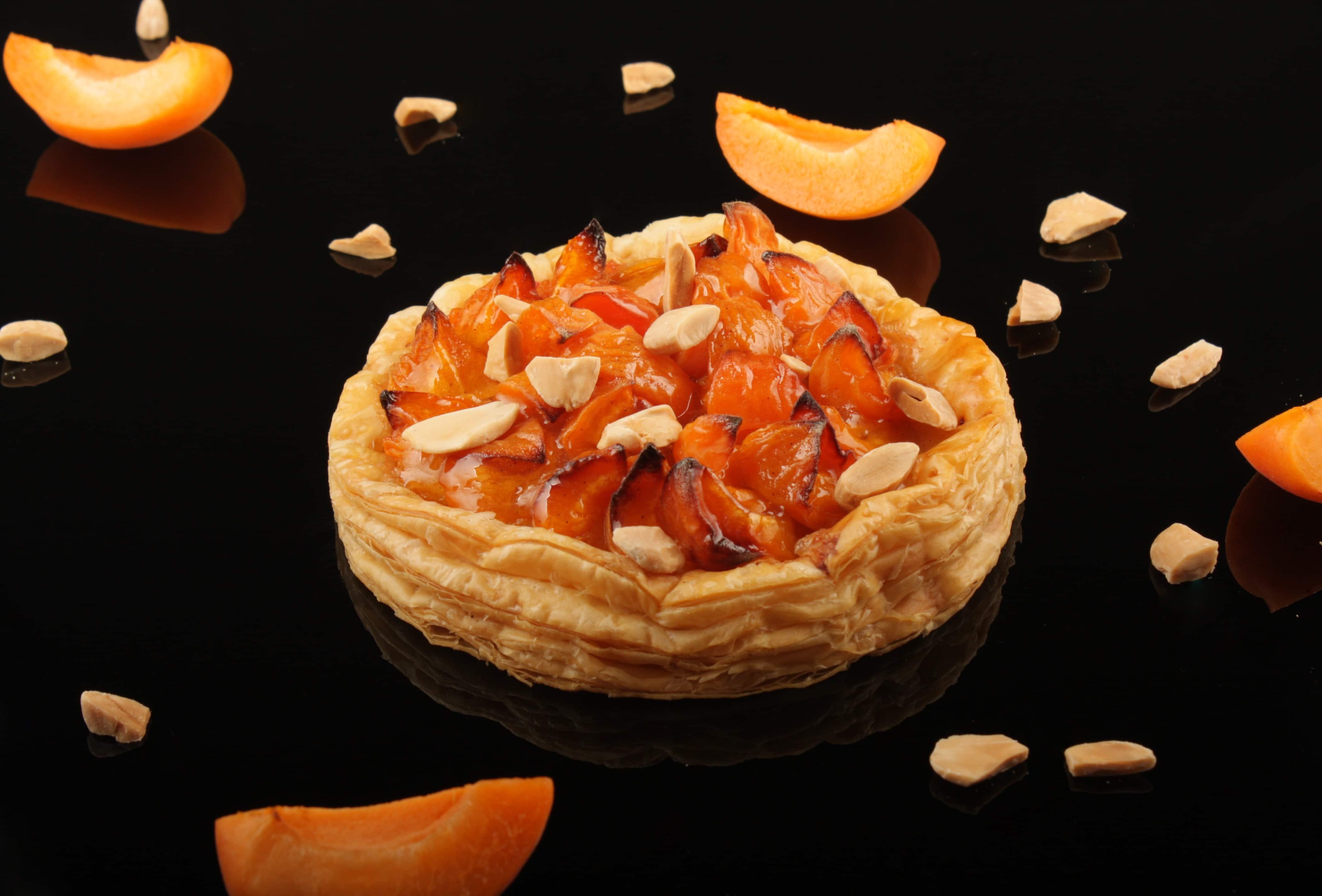 Tarte abricot amande